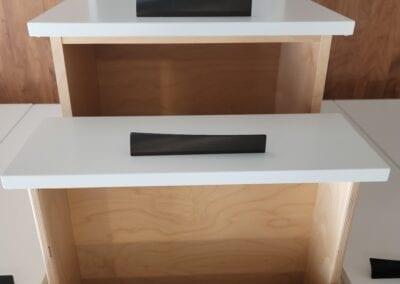 Birch Plywood, PureBond & Melamine Drawers